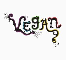Vegan t shirt by Andi Bird