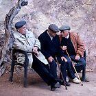 The old men of Barcelona by Gavinmc