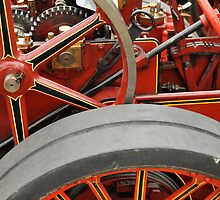 Old steam engine by Gavinmc