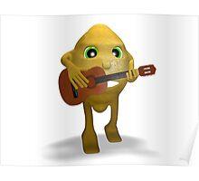 lemon guitar Poster