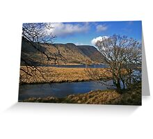 Glenveagh National Park View Greeting Card