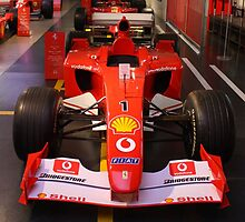 Set.. Ready.. Go! Formula 1 Ferrari Cars. Wroooooom.... by Igor Pozdnyakov