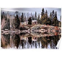 Cottage on Eleanor Lake Poster