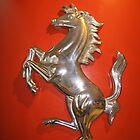 Ferrari Prancing Horse by Igor Pozdnyakov