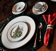 Christmas Place Setting by becky-lou