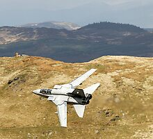 Lowflying Tornado in the Welsh Hills by Barry Culling