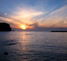 Hokkaido Sunset - Northern Hokkaido, Japan by J J  Everson