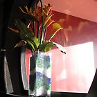 Orange flowers by mollycool12