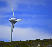 Wind Farm by Citrusali