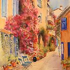 Grimauld village- France by Beatrice Cloake Pasquier