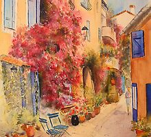 Grimauld village- France by Beatrice Cloake
