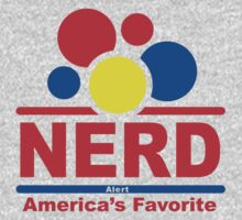 nerd alert black Kids Clothes