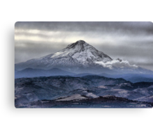 A Perspective On Hood Canvas Print