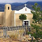 San Francisco Church, Golden, New Mexico by gcampbell