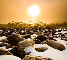 Mount Wellington Sunrise by Kim Maisch