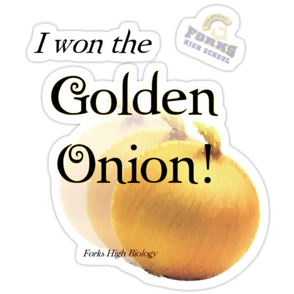I won the Golden Onion! by stormygt
