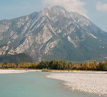 The Tagliamento River  by jojobob