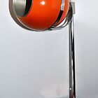 60's ball tablelamp by beanocartoonist