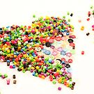 Beads And Buttons Heart by pinkarmy25