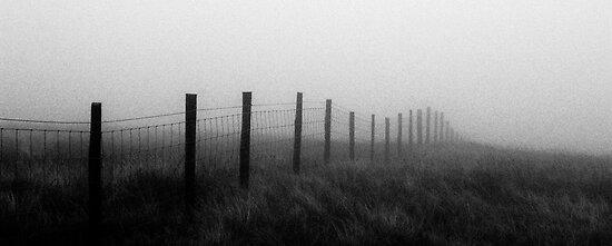 Fence Posts, Mount Aran by Xander Ashwell