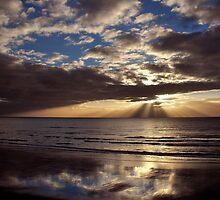 Kapiti Coast Sunset by Russ Underwood