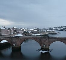 The 'old bridge' over the Tweed by chili