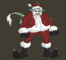 monsta claus... by kangarookid