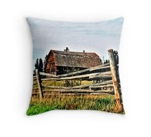 Barn Throw Pillow