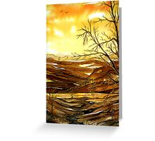 Sunrise Valley  Greeting Card