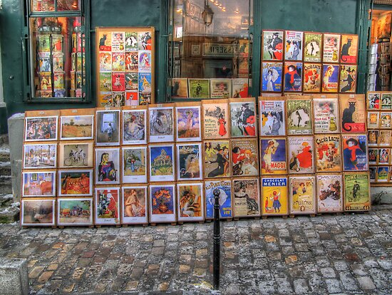 """A little bit of history repeating"" (Montmartre, Paris) by Paul Ryan"