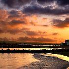 A Dorset Sunset by Graham Ettridge