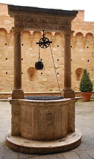 Well in Siena  by jojobob