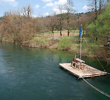 River Raft near Planina  by jojobob