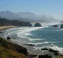 Ecola State Park, Oregon by worldtripper