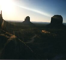 In Awe of God- Monument Valley by johntbell