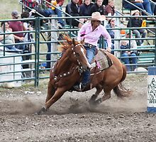 Cochrane Lions Rodeo #12, 2009, Canada. by Felicity McLeod