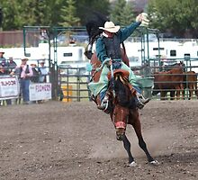 Cochrane Lions Rodeo #19, 2009, Canada. by Felicity McLeod