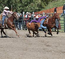 Cochrane Lions Rodeo #23, 2009, Canada. by Felicity McLeod