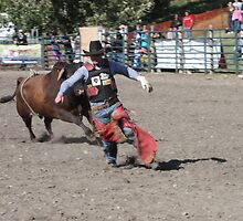 Cochrane Lions Rodeo #27, 2009, Canada. by Felicity McLeod
