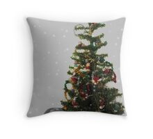 My first Christmas tree! Throw Pillow