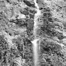 Huatulco Waterfall by Leslie van de Ligt