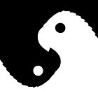 Yinyang Parrots Figure-Ground Reversal by MichelleLyon