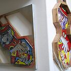 Guitar Wall Scupltures by Reynaldo