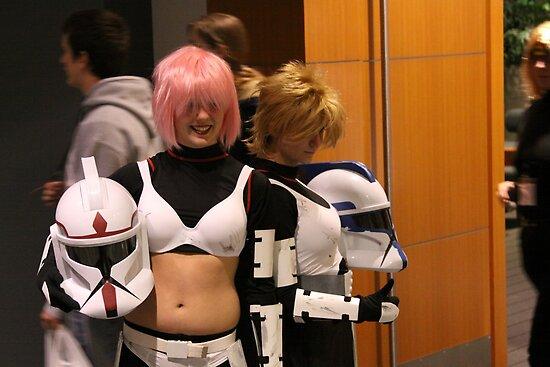 Star Wars Chibi Chics by Okeesworld