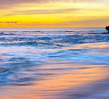 Sunset at Trigg Beach, Western Australia by Dave Catley