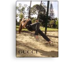 Carmelles Gucci Photo Canvas Print