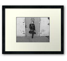Seth after Beatles Concert Framed Print