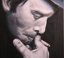 Tom Waits by EDee