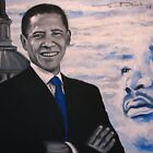 Barak Obama  - I had a Dream by EDee