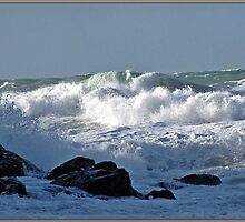 """ Rough Sea's at Chapel Porth"" by mrcoradour"